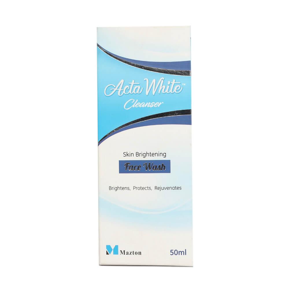 Acta white cleanser 50ml
