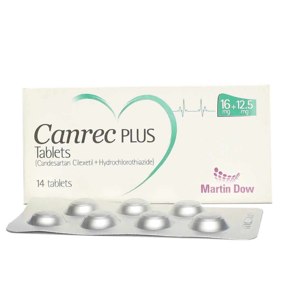 Canrec Plus 16/12.5mg