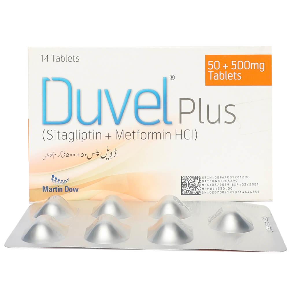 Duvel Plus 50/500mg
