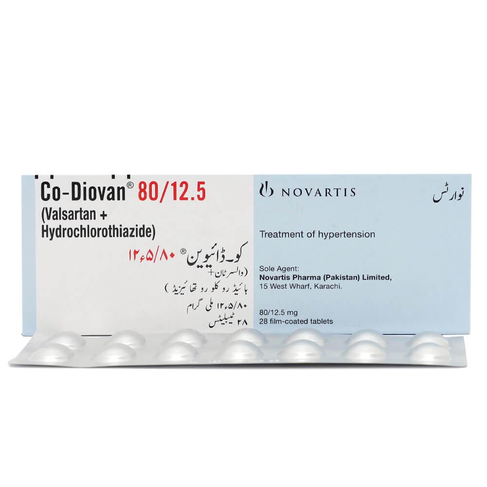 Co-Diovan 80/12.5mg