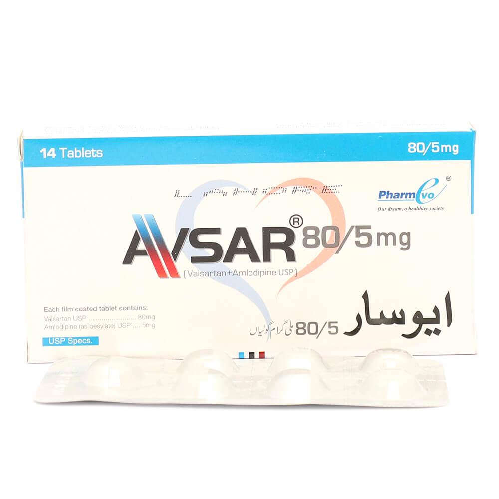 Avsar 5/80mg