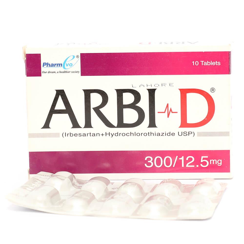 Arbi-D 300mg/12.5mg