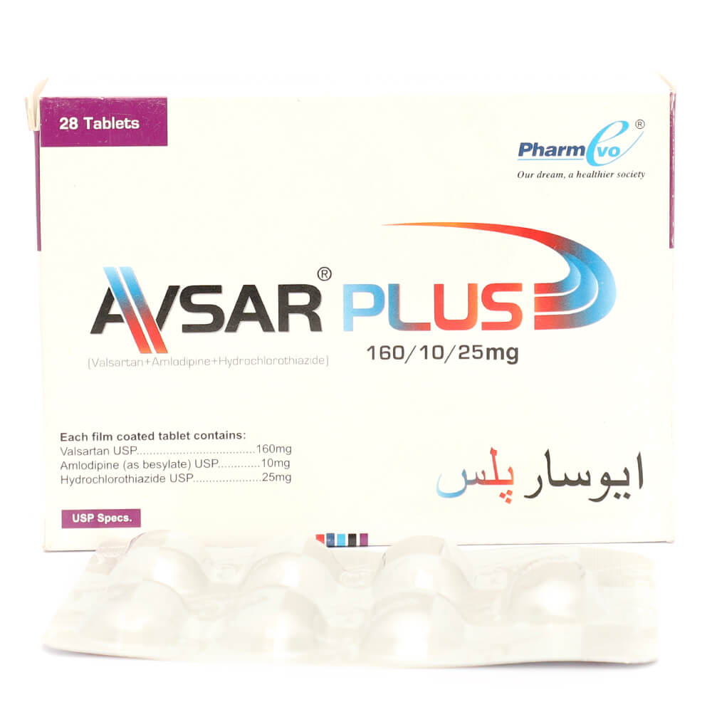 Avsar Plus 160/10/25mg