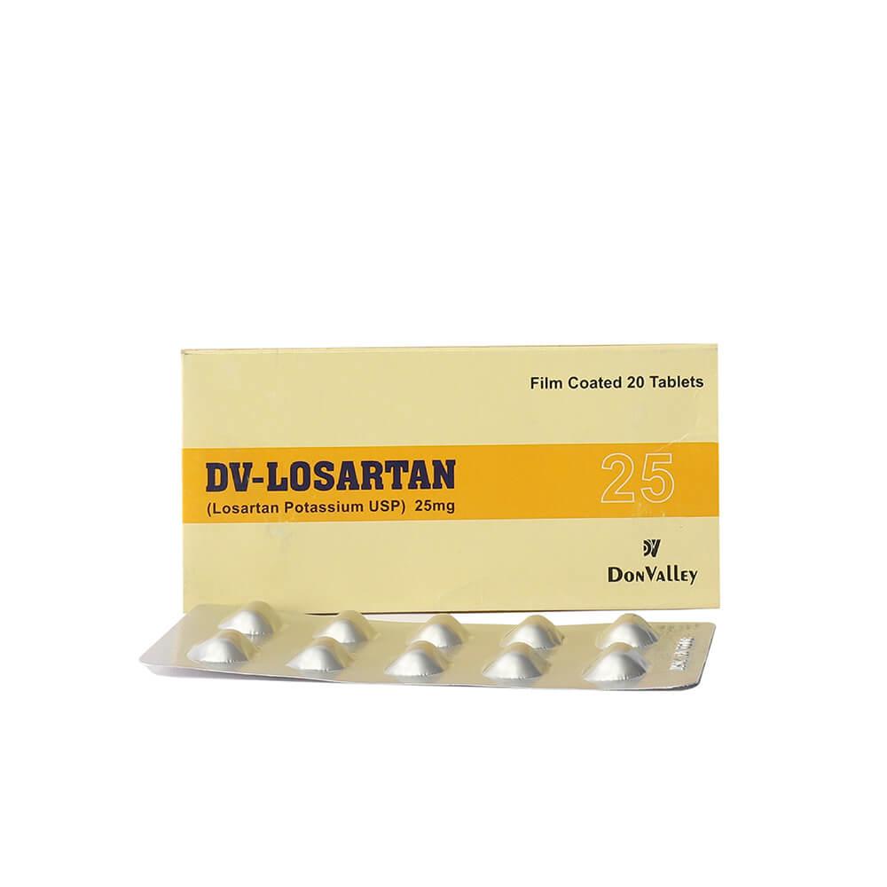 Dv-Losartan 25mg
