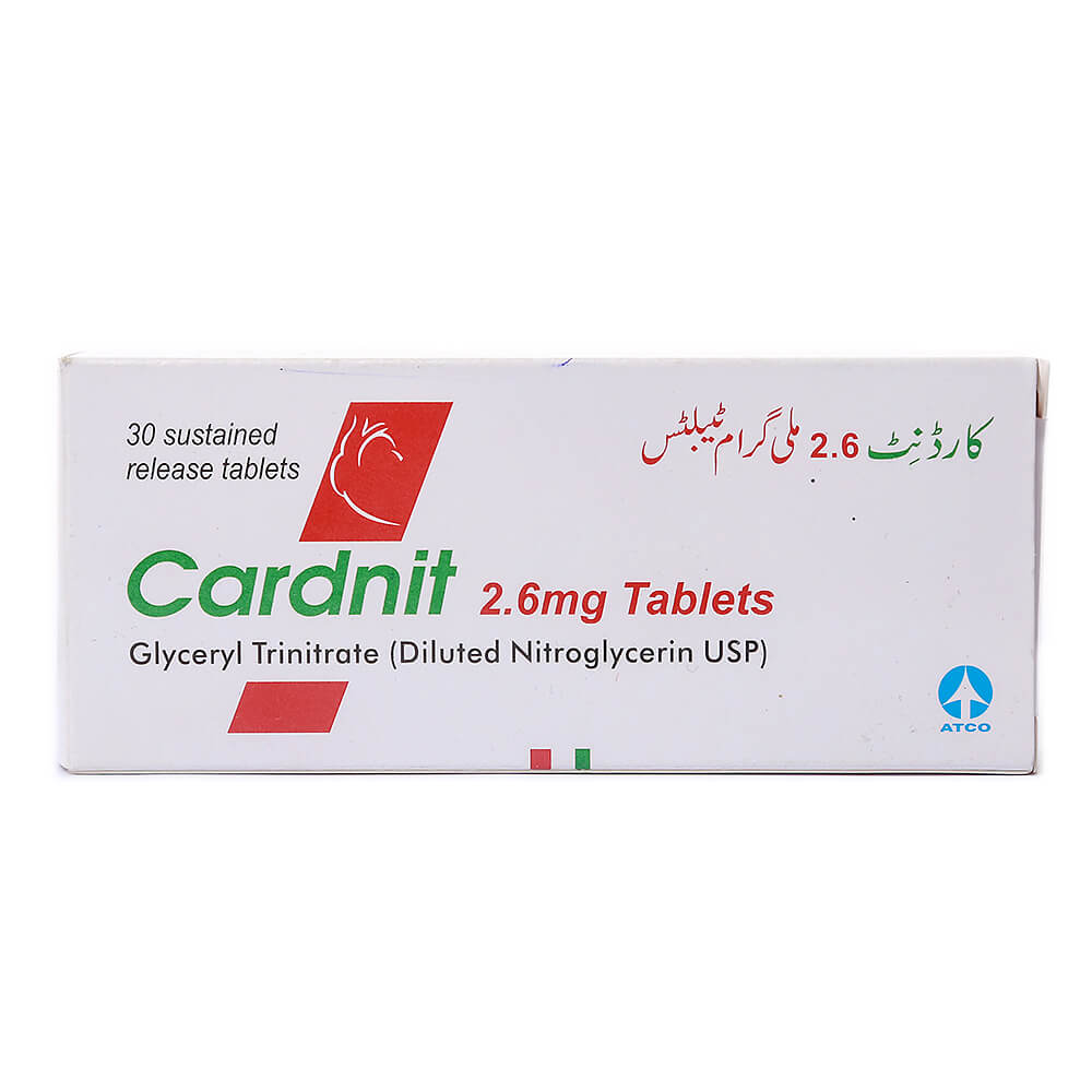 Cardnit 2.6mg
