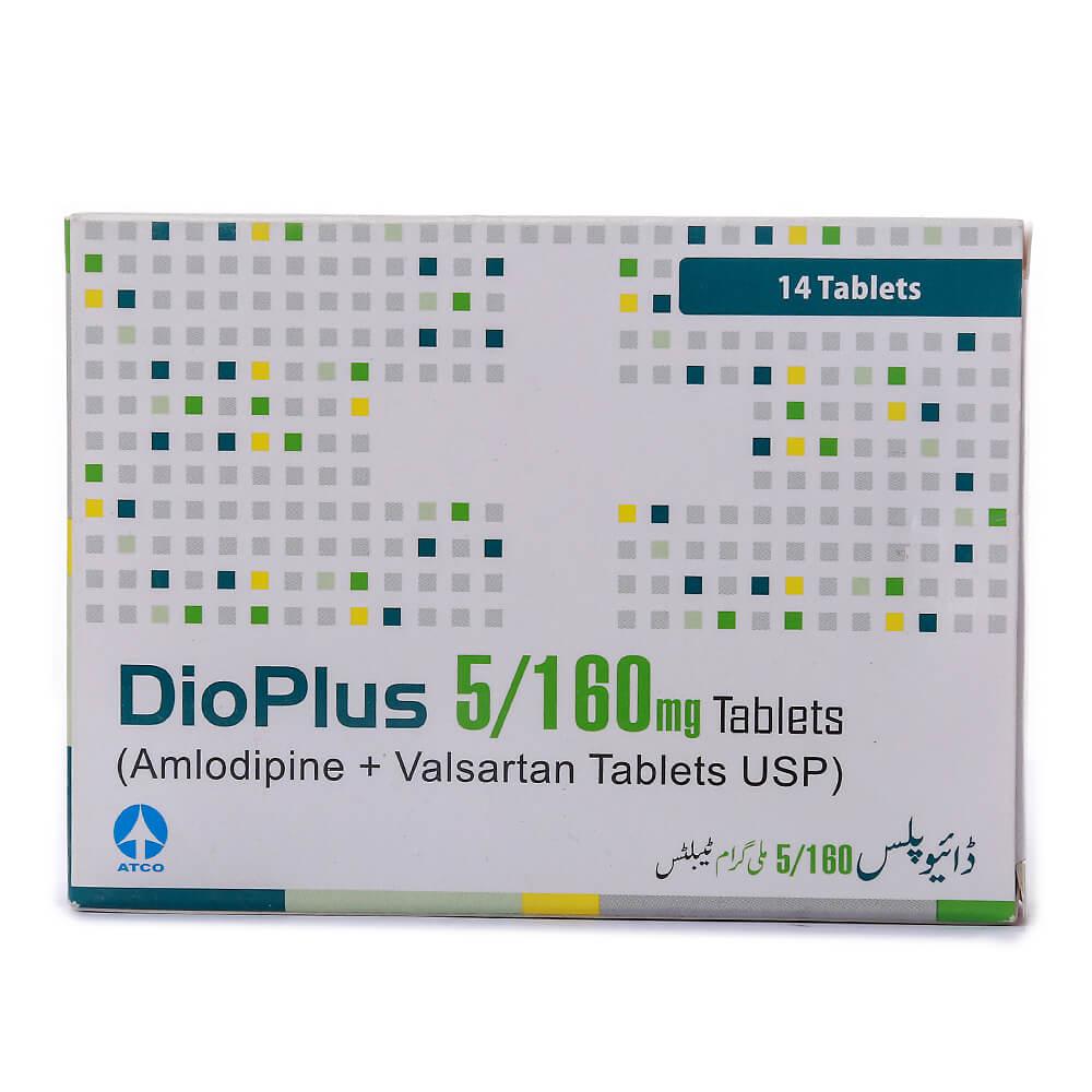 Dio Plus 5/160mg