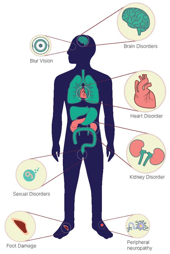 major complications of diabetes