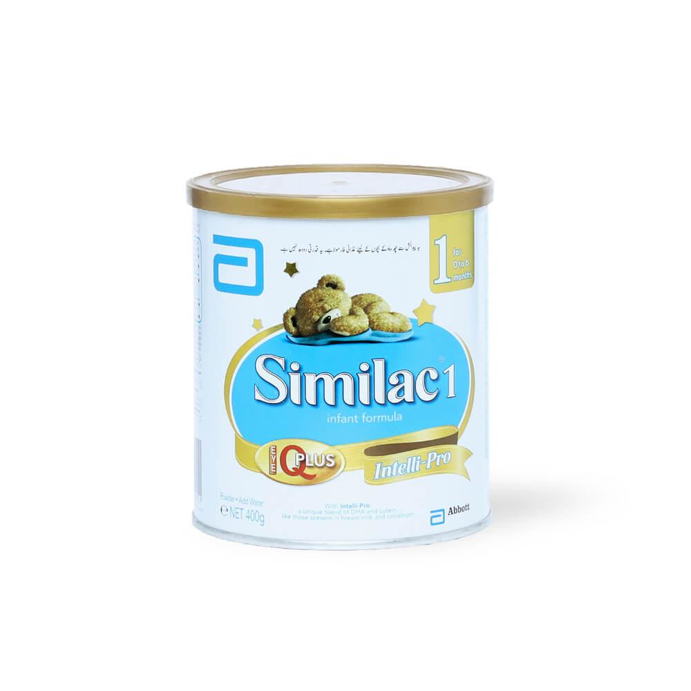 Similac-1 Infant Formula Plus Intelli-Pro 400g
