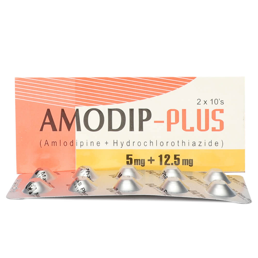 Amodip-Plus 5mg/12.5mg