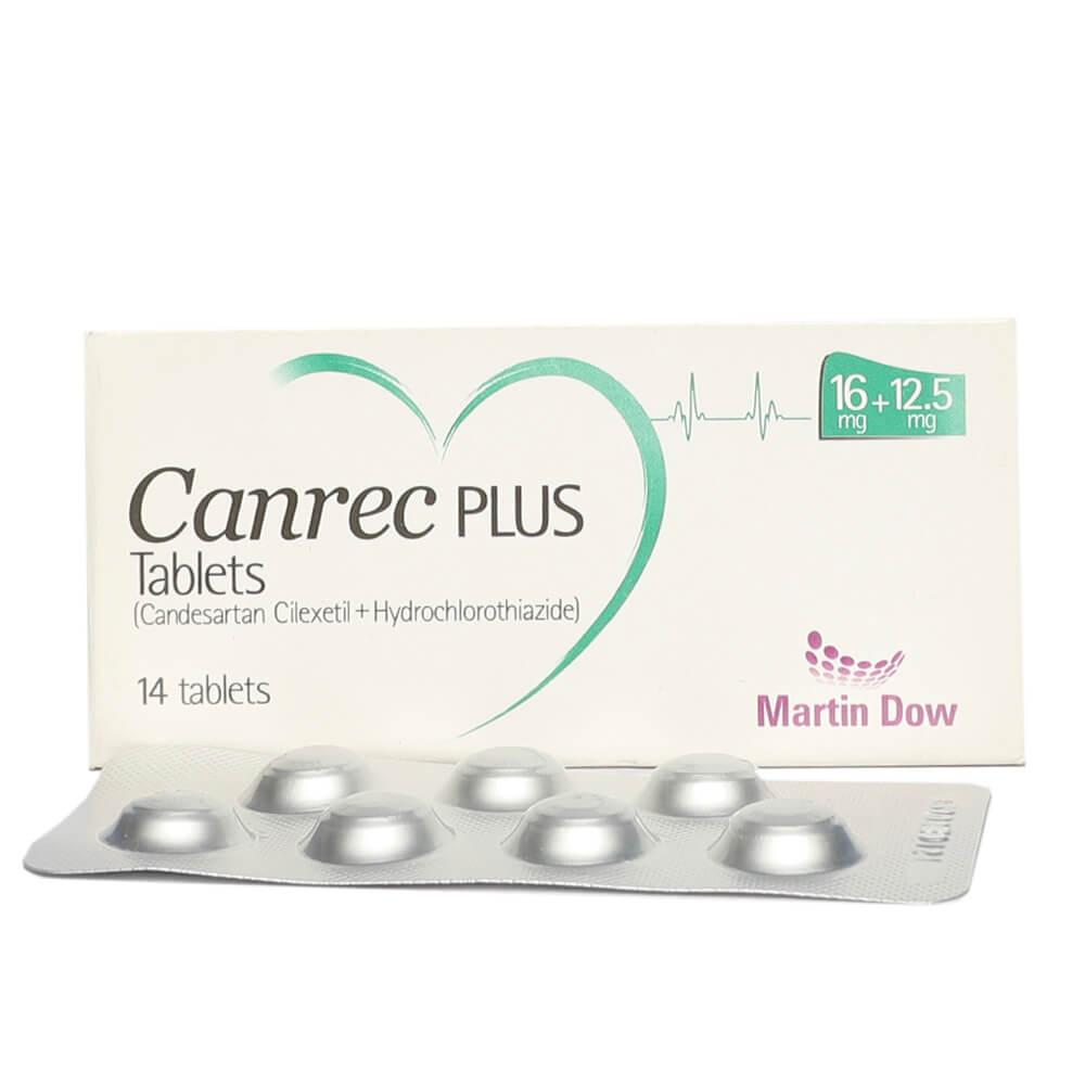 Canrec Plus 16/12.5mg