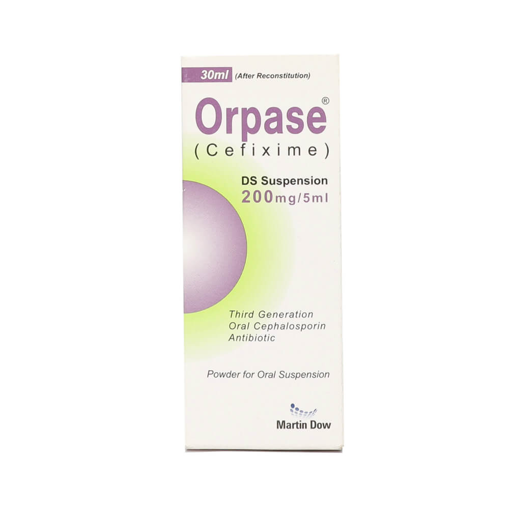 Orpase DS 200mg (30ml)