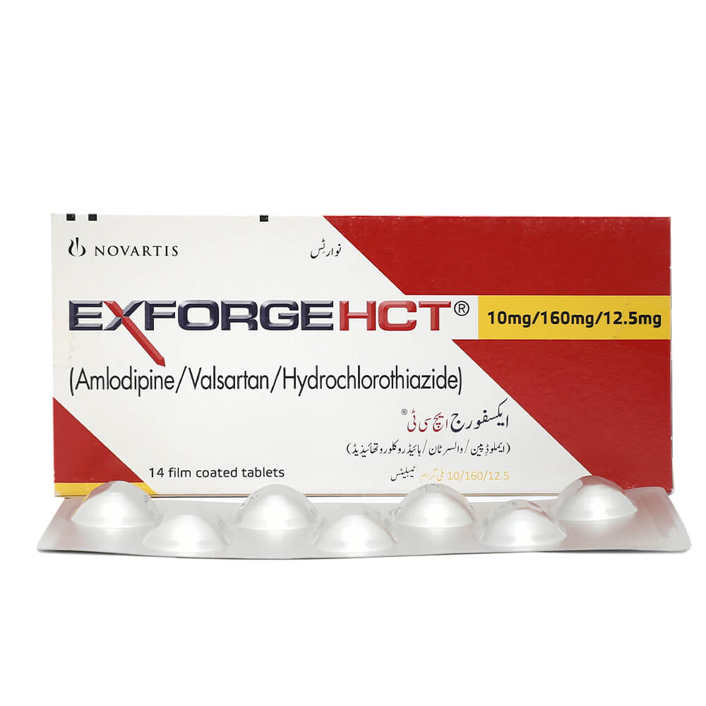 Exforge Hct 10/160/12.5mg