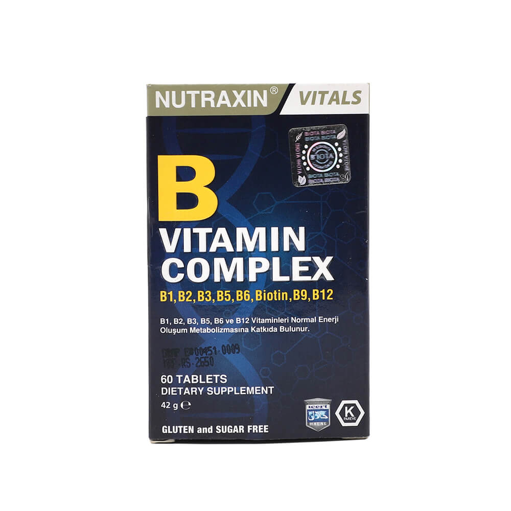Nutraxin B Vitamin Complex