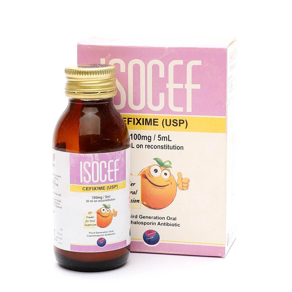 Isocef 100mg/5ml 30ml