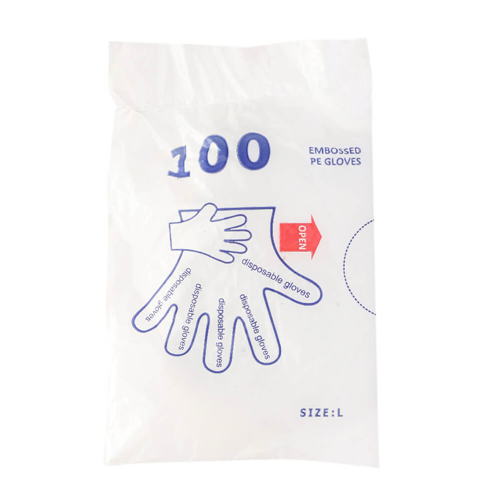 Polythene Gloves 100S