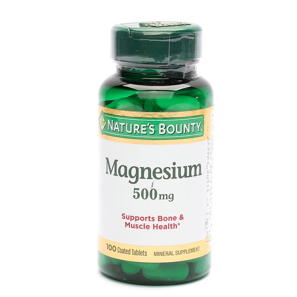 Nature's Bounty Magnesium 500mg (100)