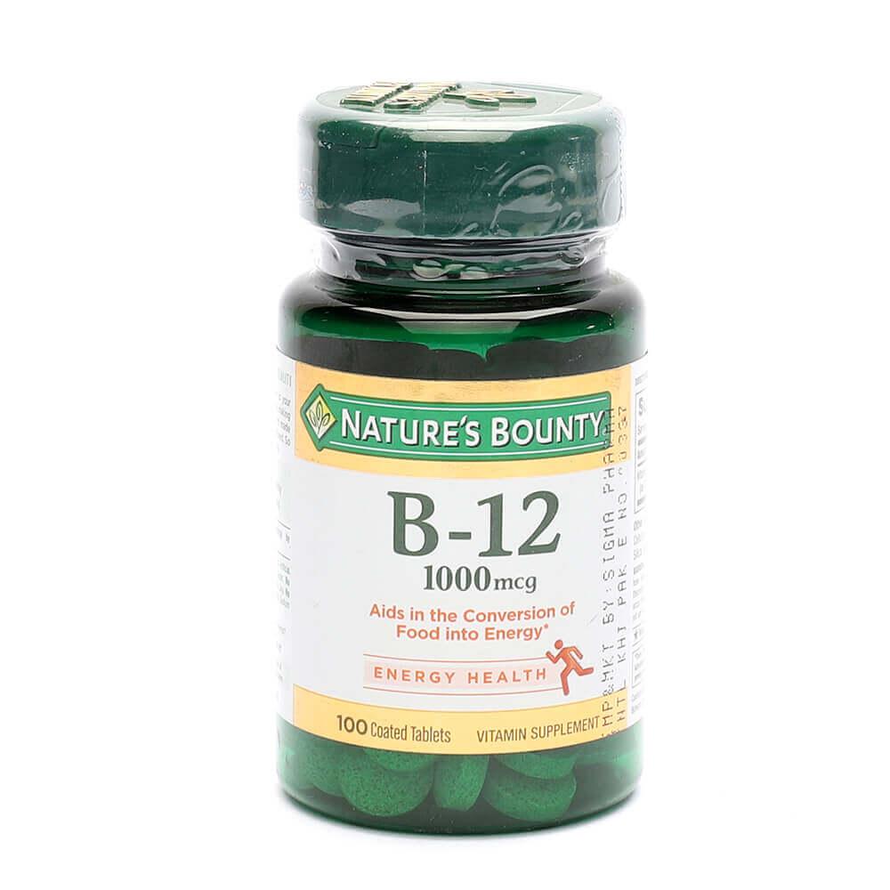 Nature's Bounty B-12 1000mcg