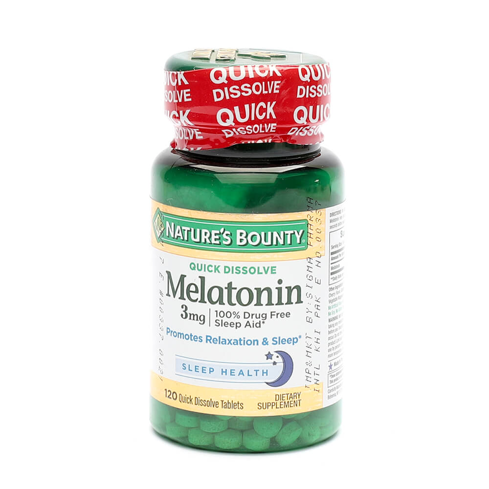 Nature's Bounty Melatonin 3mg (120)