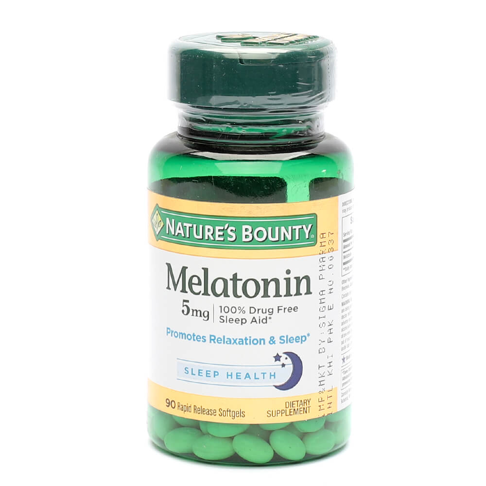 Nature's Bounty Melatonin 5mg (90)
