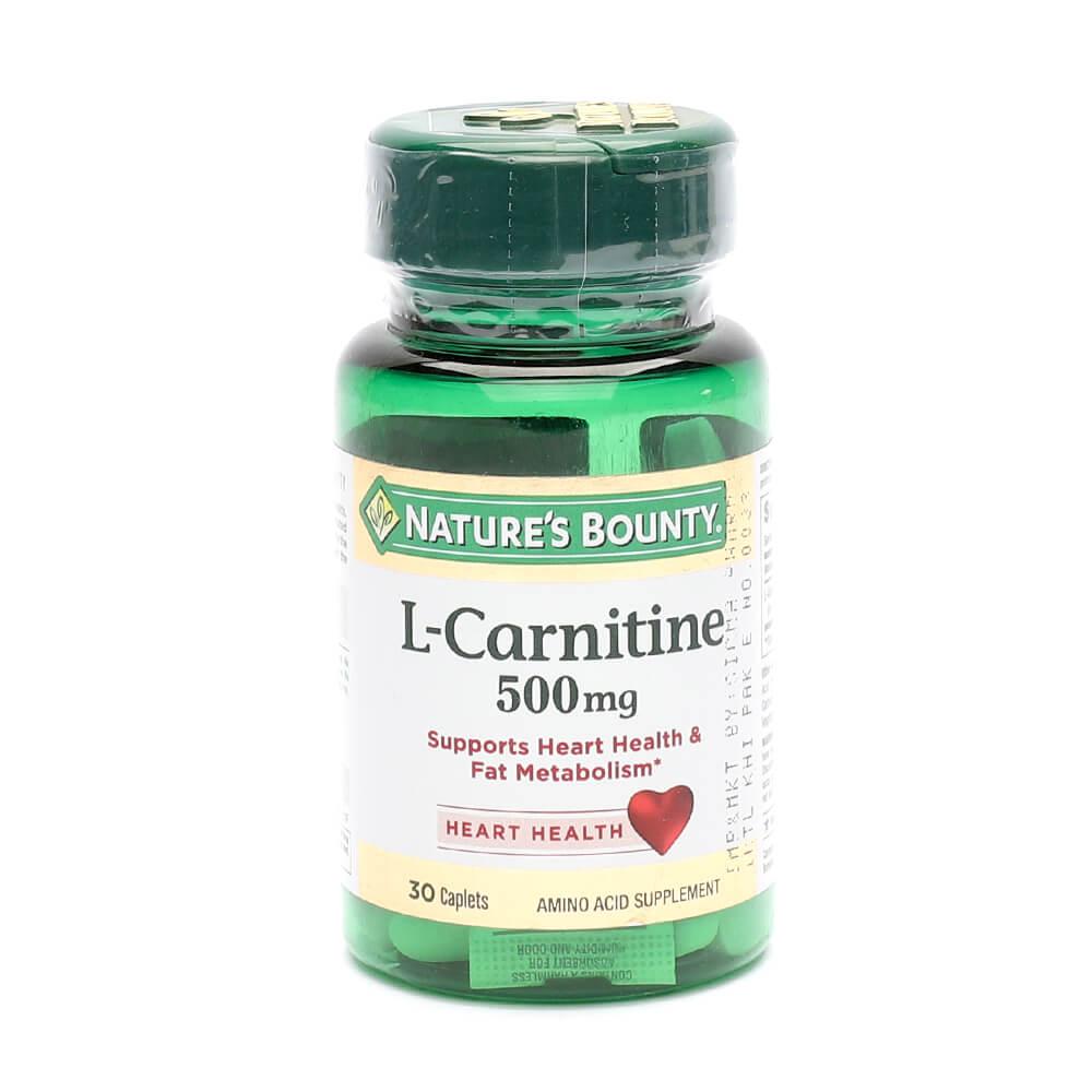 Nature's Bounty L-Carnitine 500mg (30)