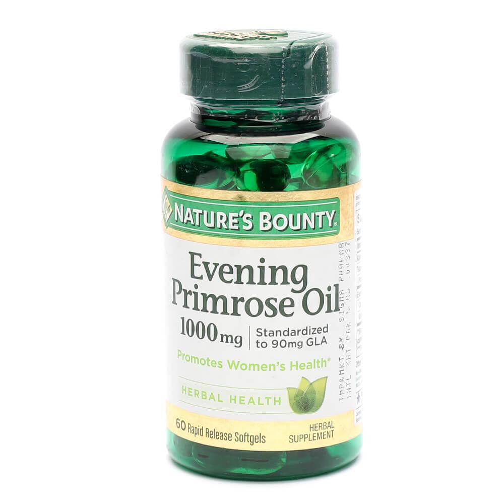 Nature's Bounty Evening Primrose Oil 1000mg (60)