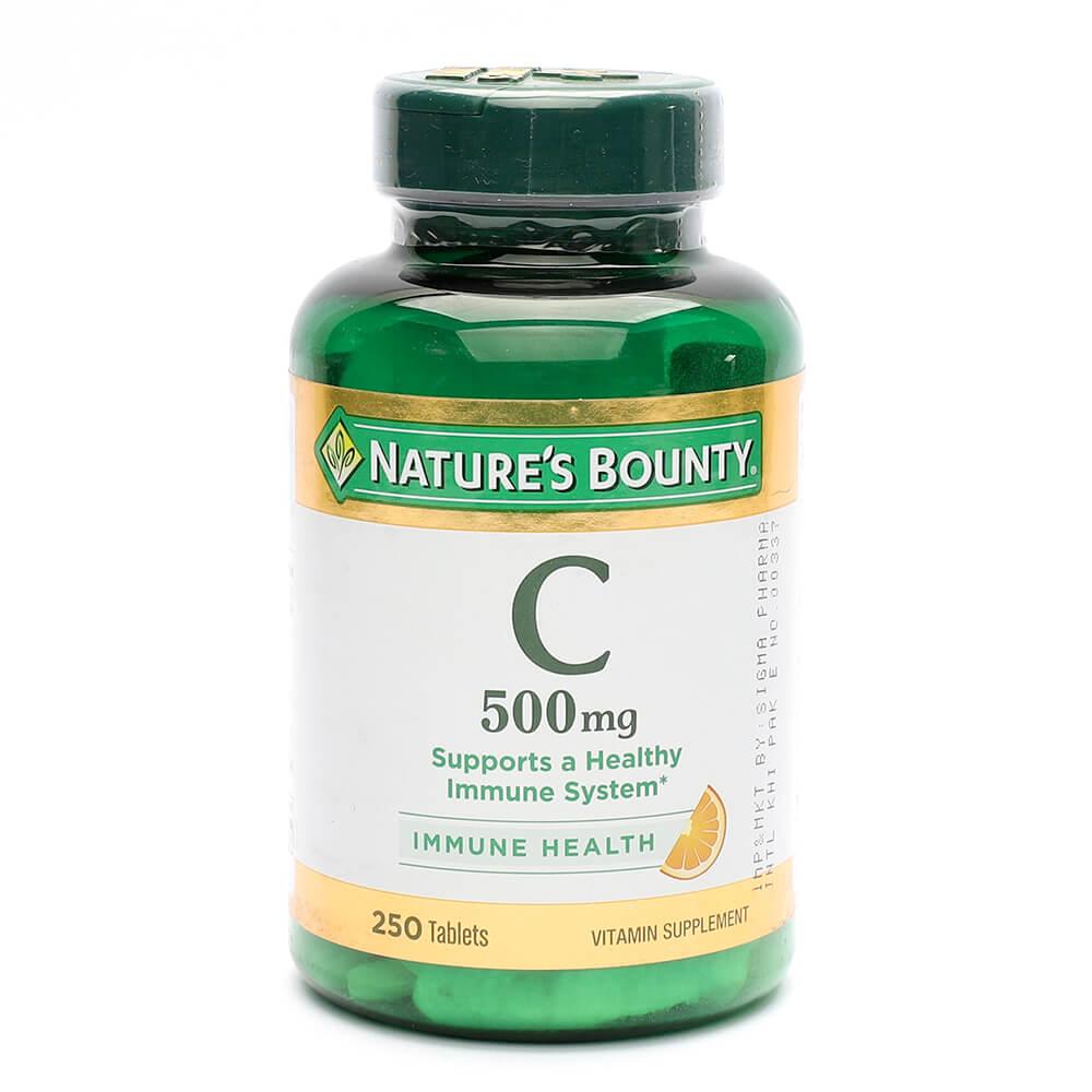 Nature's Bounty Vitamin C 500mg (250)