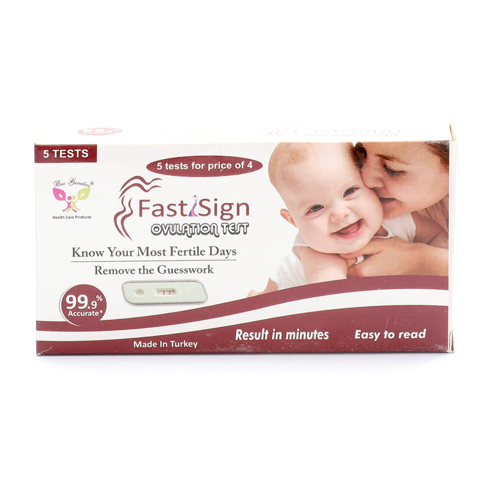 Fast Sign Ovulation Test Strips