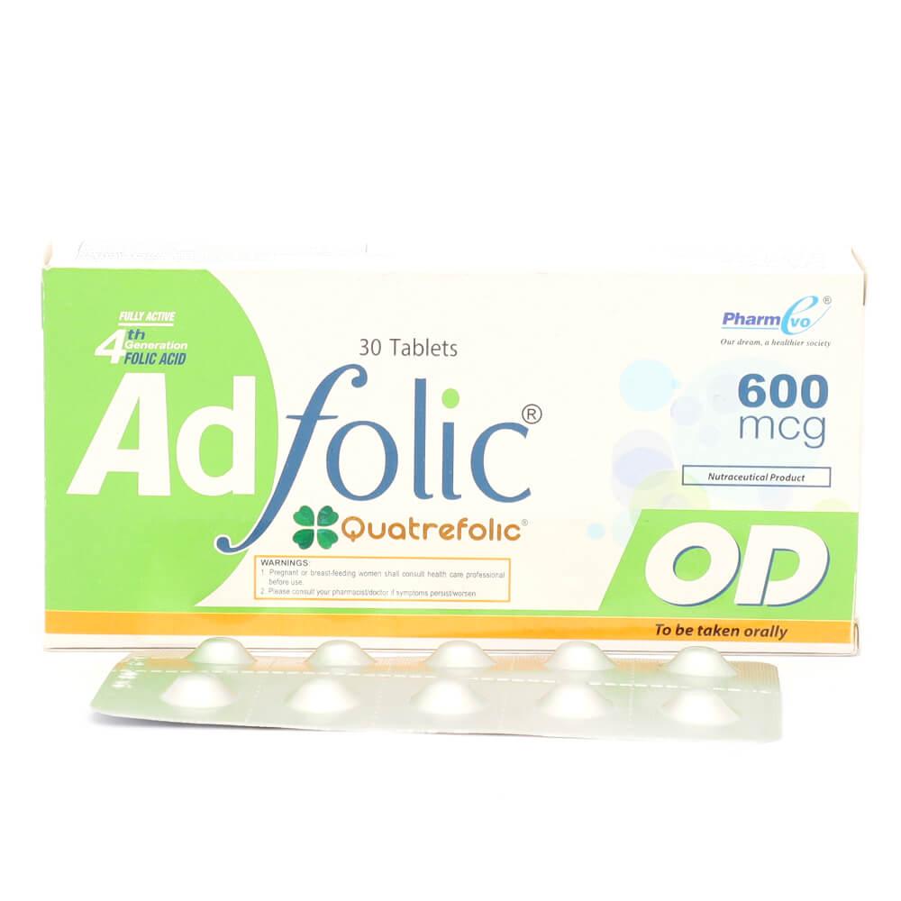 Adfolic OD 600mg