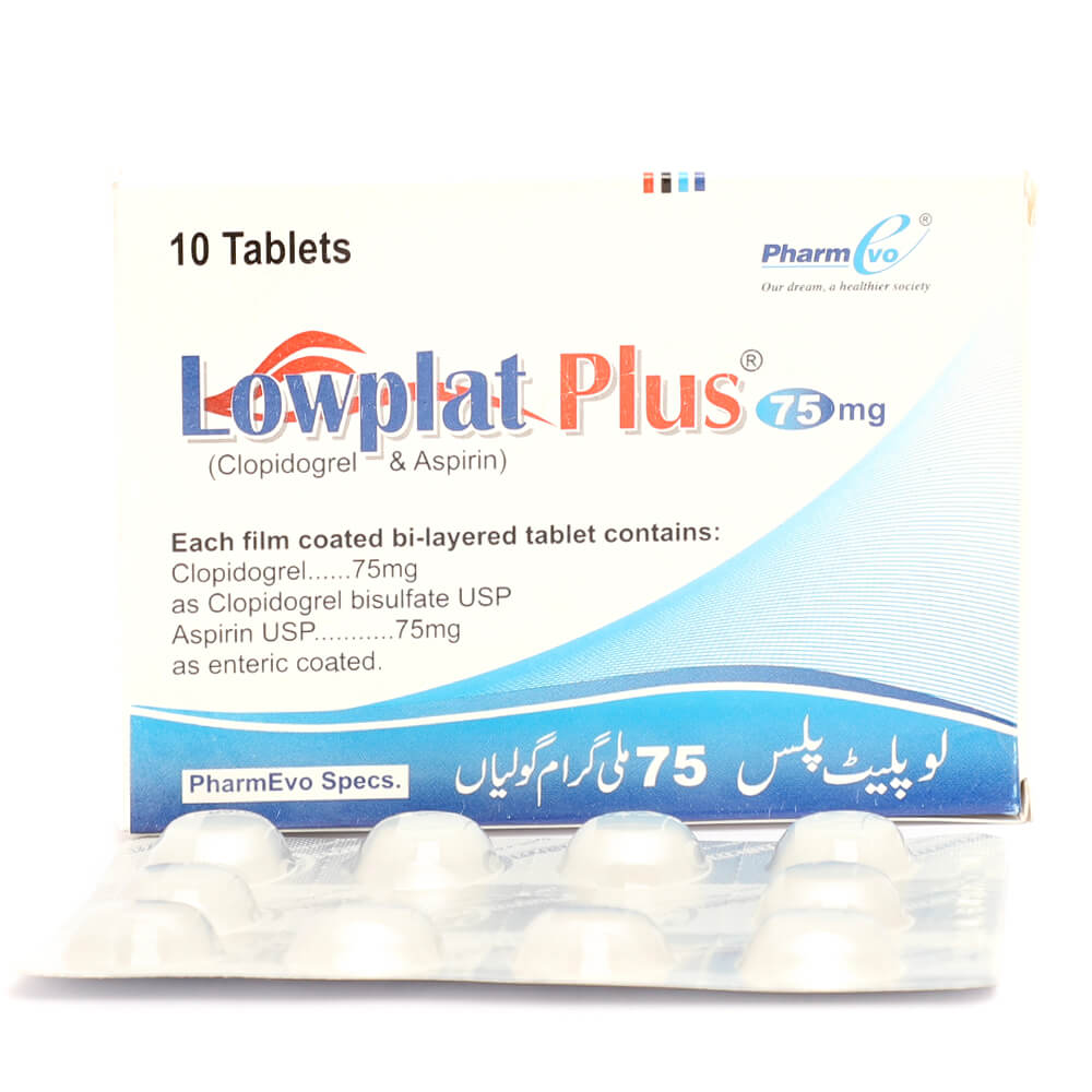 Lowplat Plus 75/75mg