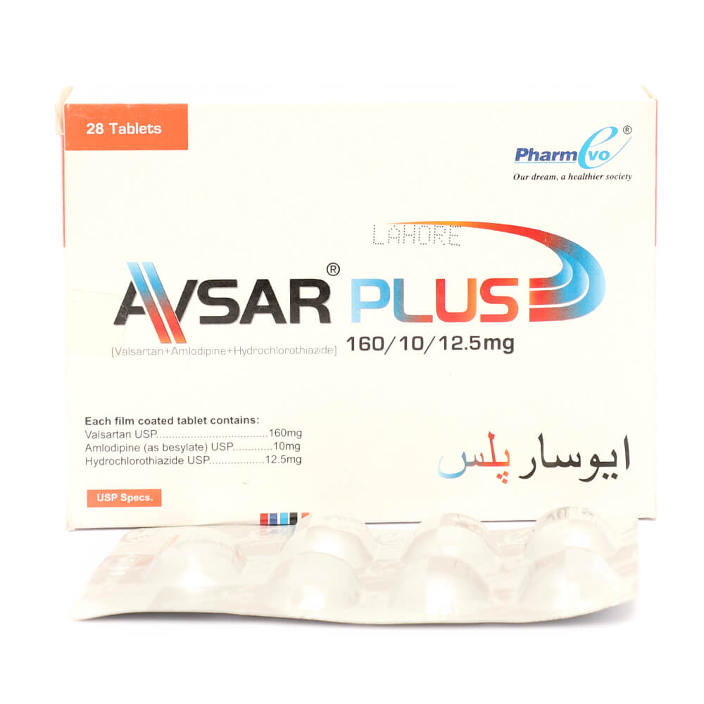 Avsar Plus 160/10/12.5mg