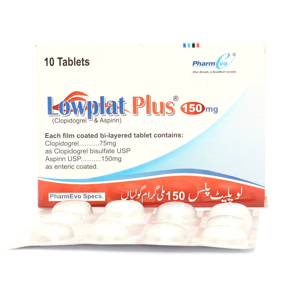 Lowplat Plus 75/150mg