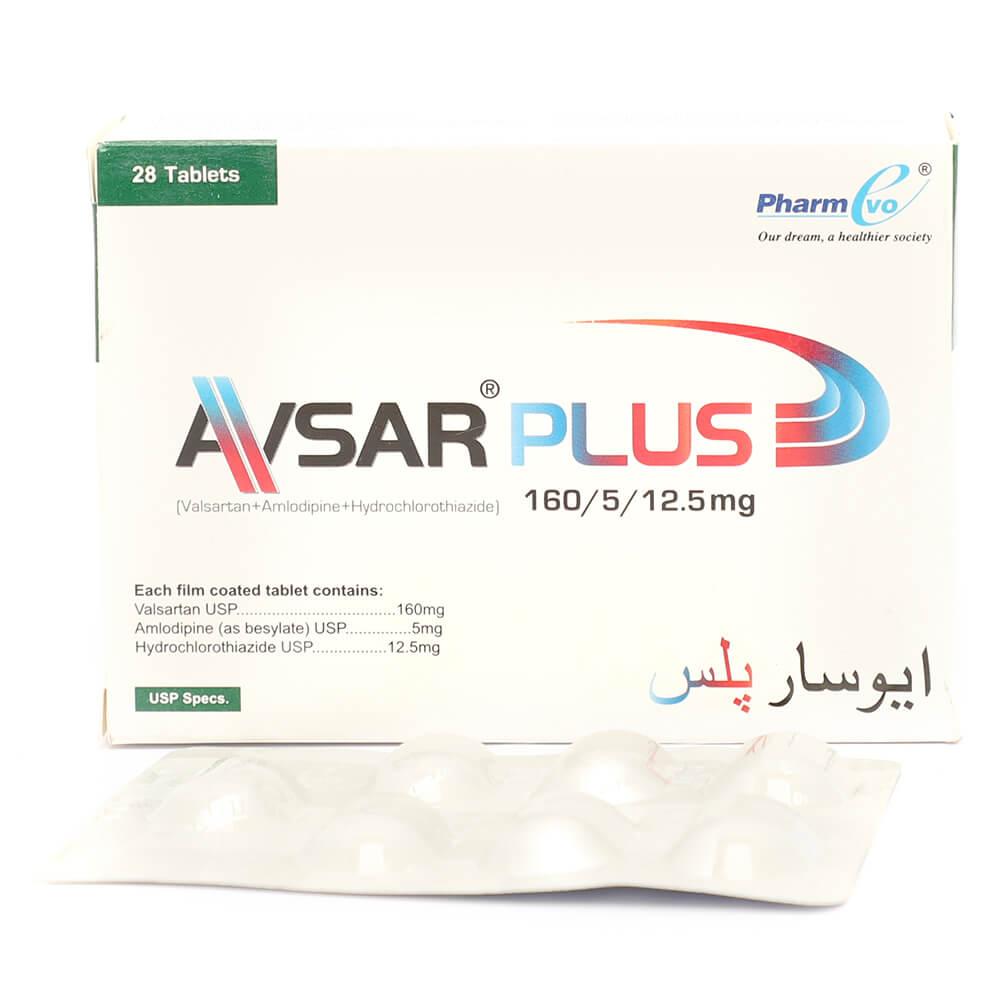 Avsar Plus 160/5/12.5mg