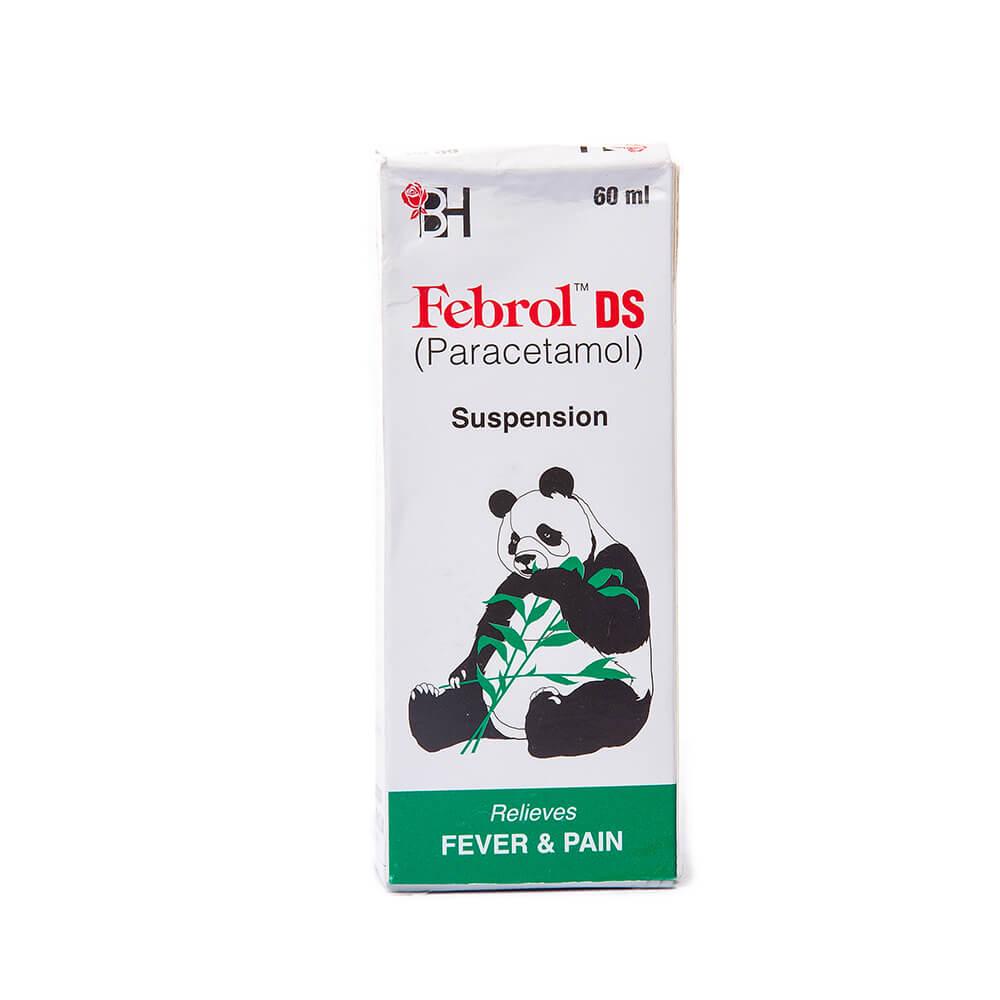 Febrol DS 250mg (60ml)