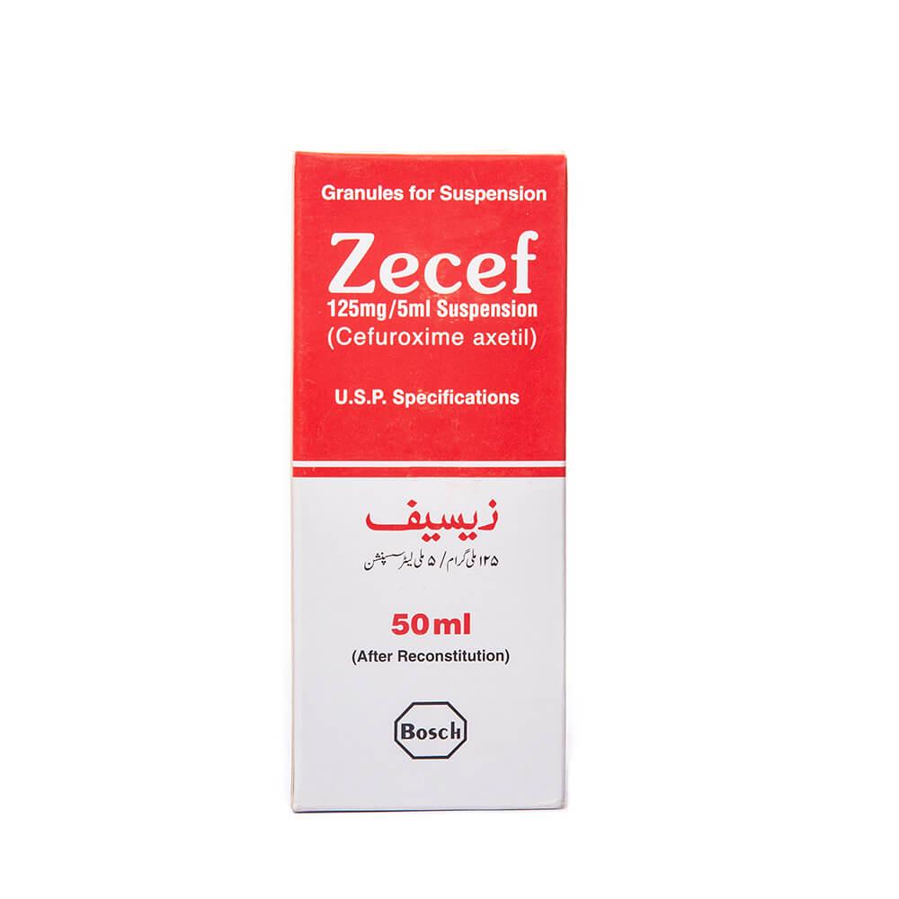 Zecef 125mg (50ml)