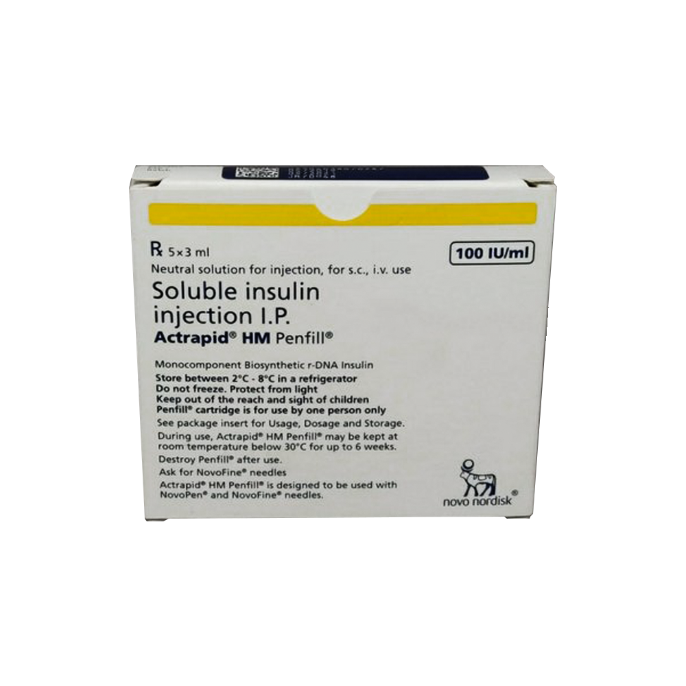 Actrapid Hm Penfill 3ml