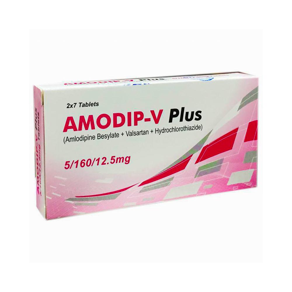 Amodip-V Plus 5/160/12.5mg