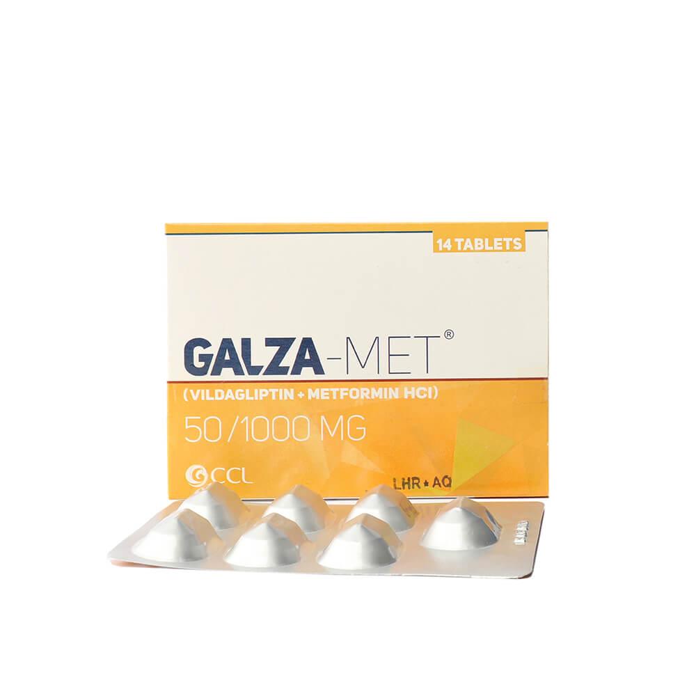 Galza-met 50/1000mg