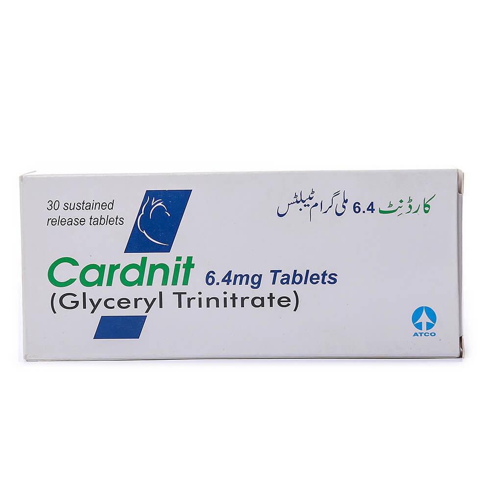 Cardnit 6.4mg