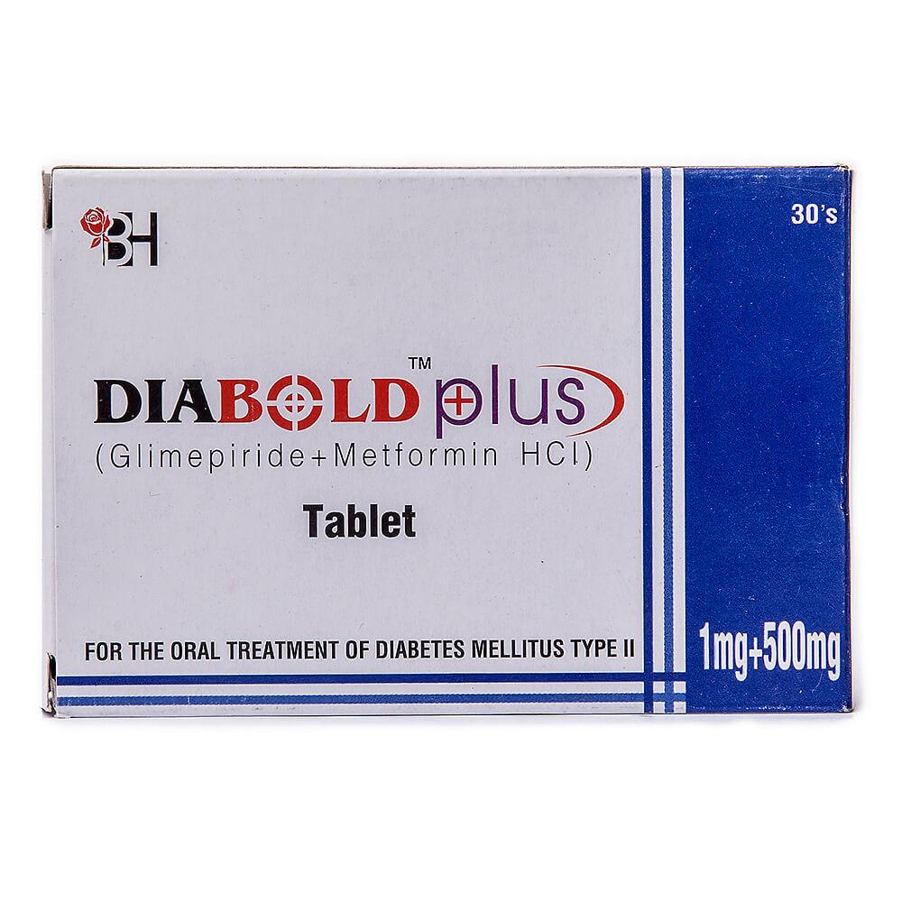Diabold Plus 1/500mg