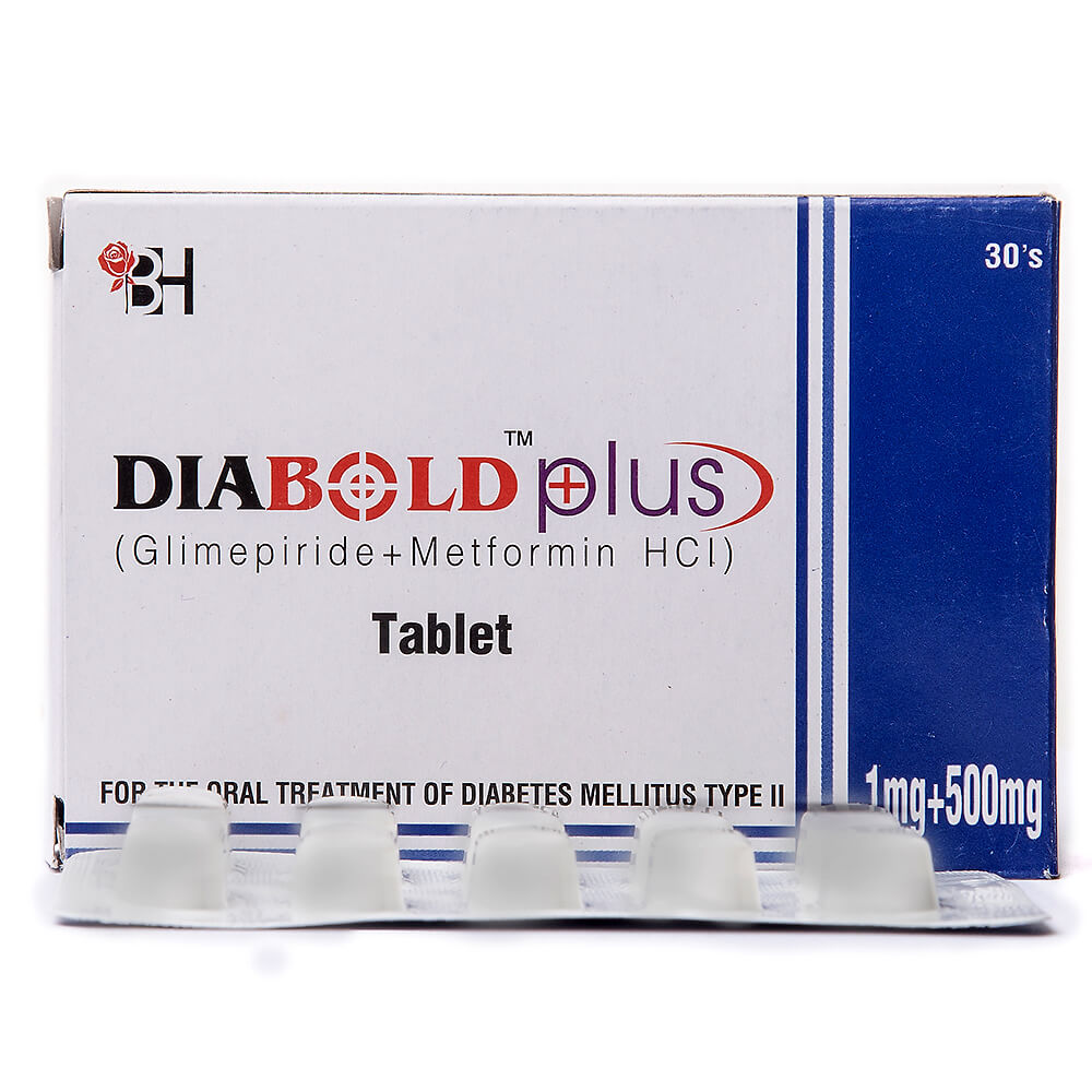 Diabold Plus 1/500mg