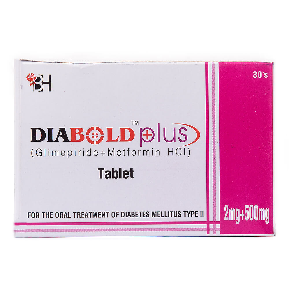 Diabold Plus 2mg/500mg