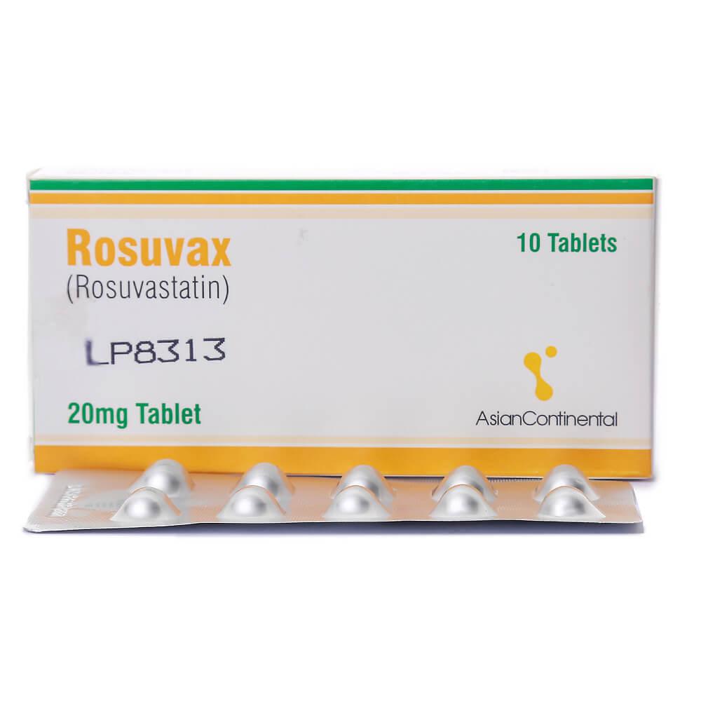 Rosuvax 20mg