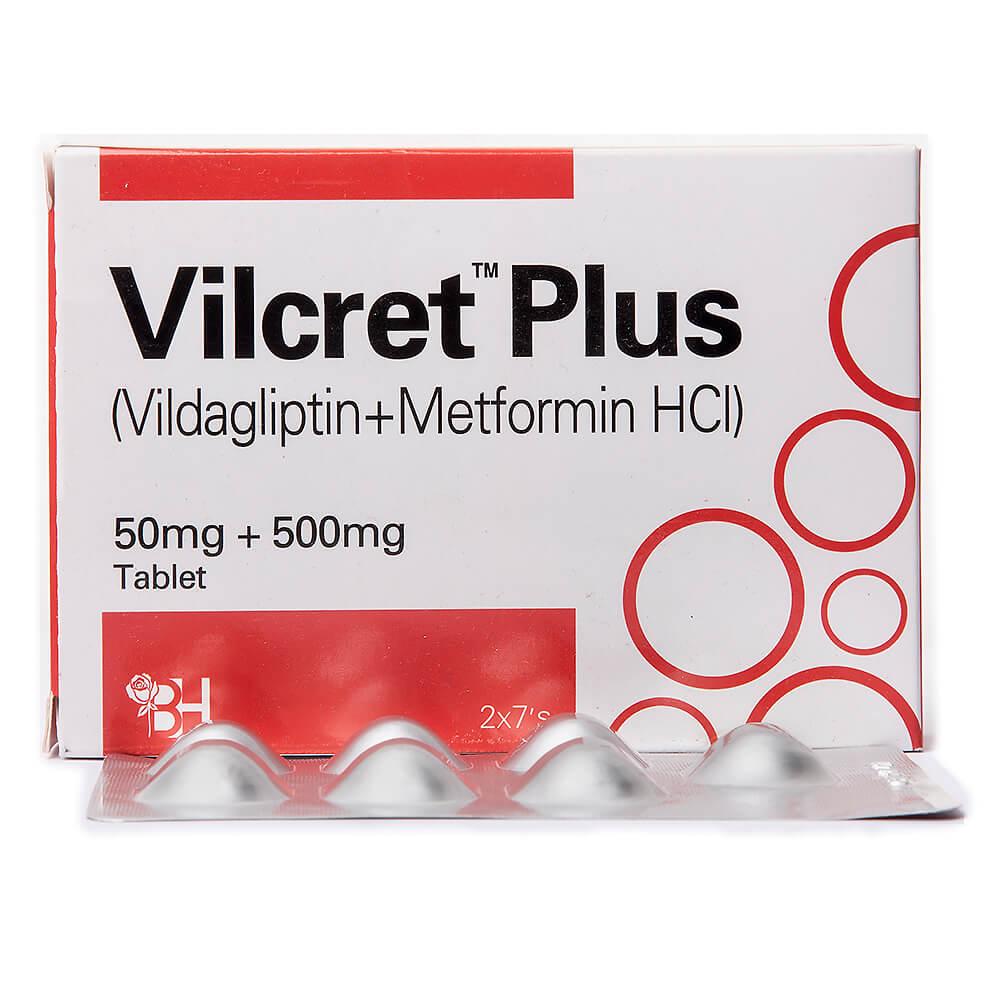 Vilcret Plus 50/500mg