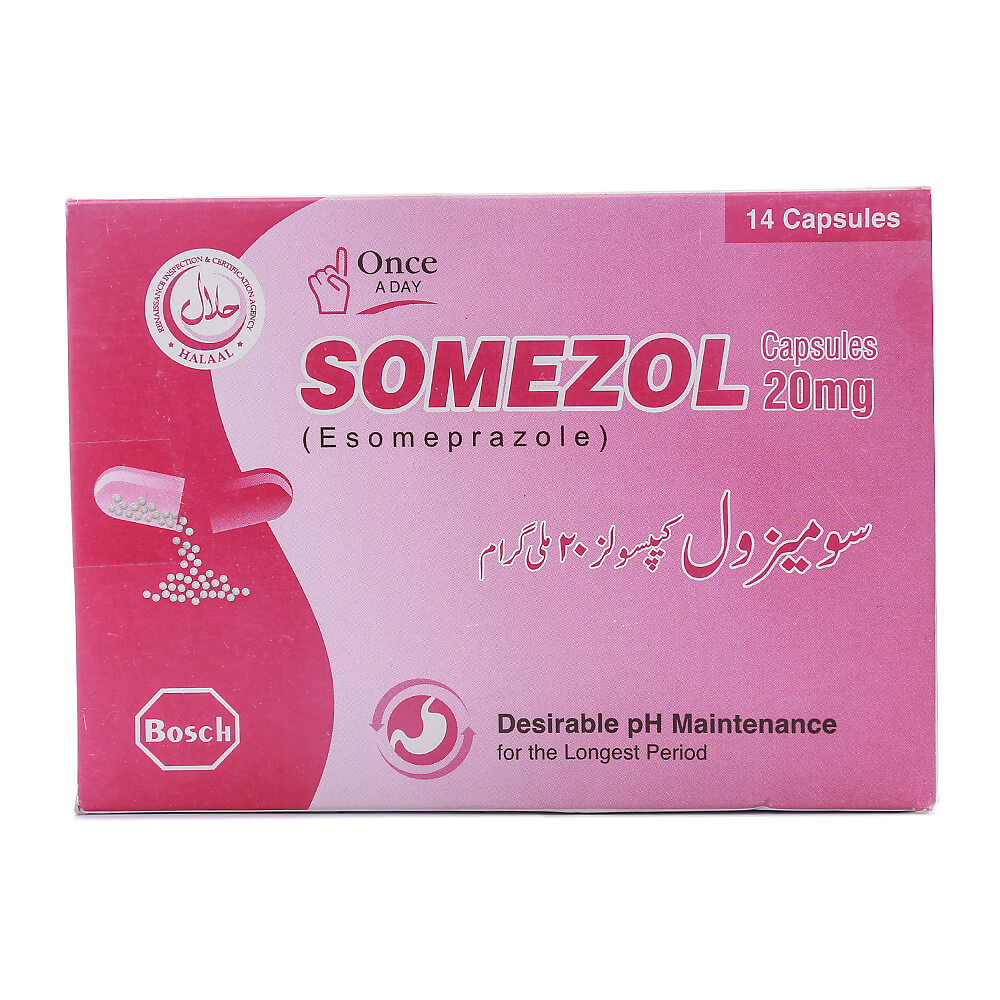 Somezol 20mg
