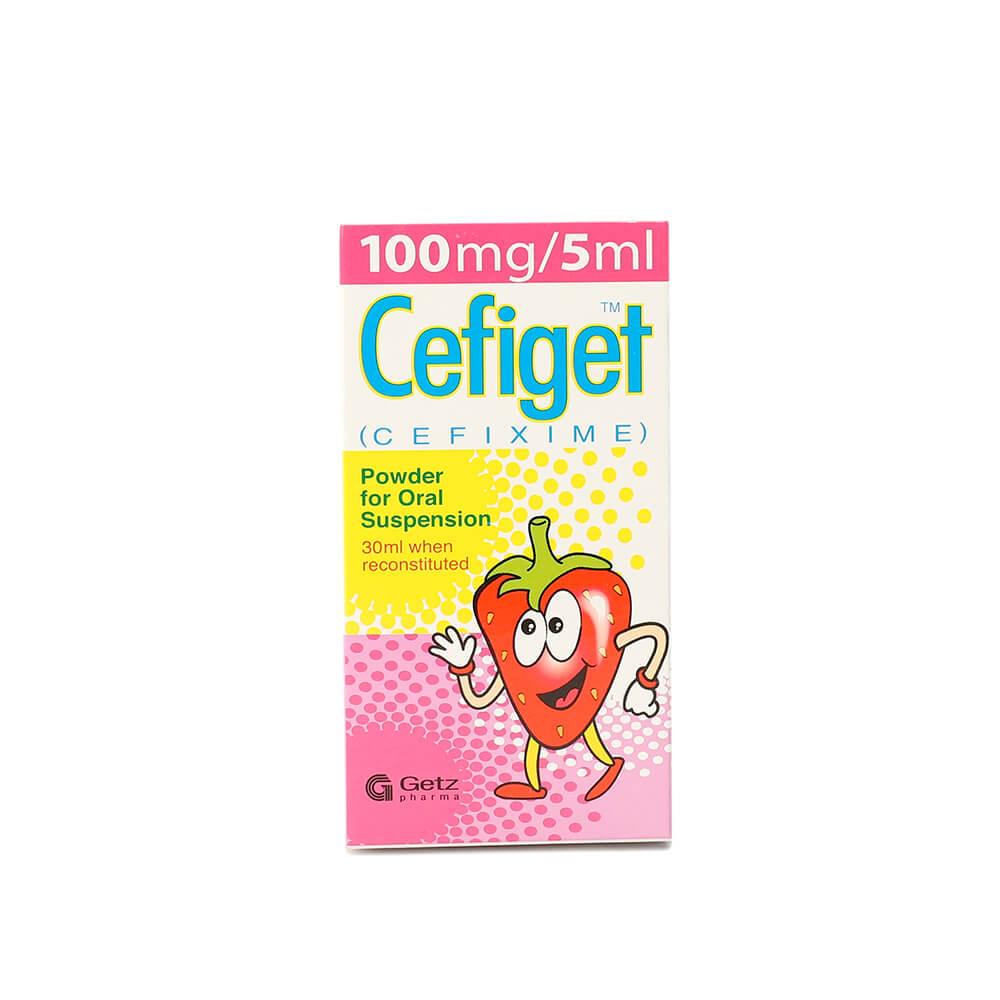 Cefiget 100mg (30ml)