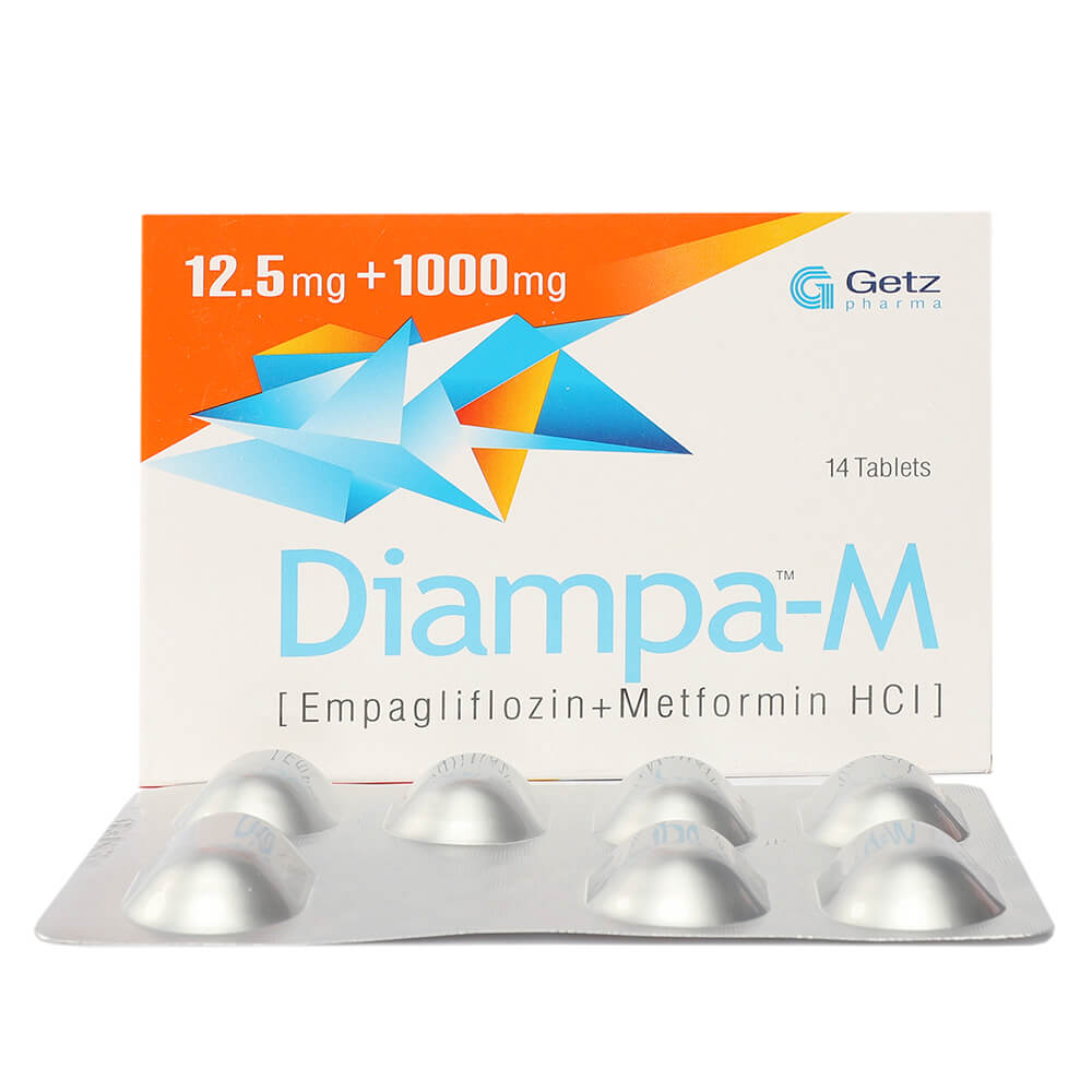 Diampa-M 12.5/1000mg