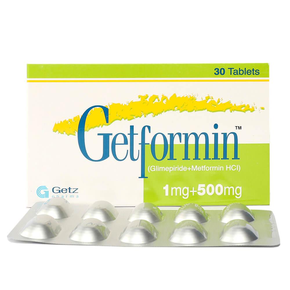 Getformin 1/500mg