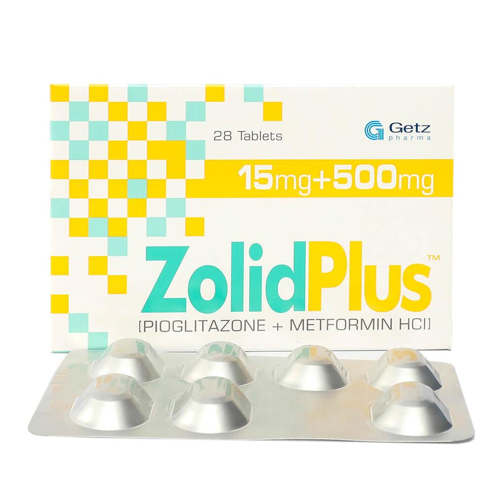 Zolid Plus 15/500mg