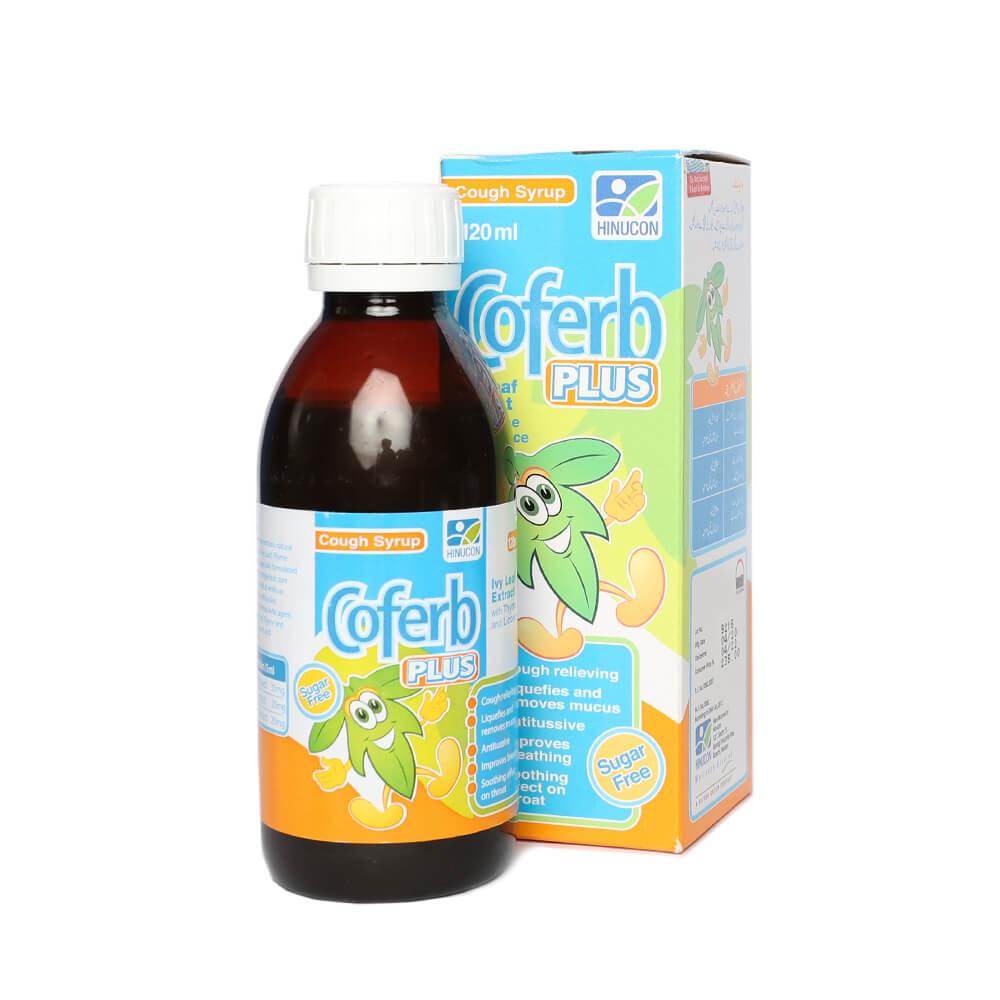 Coferb Plus Sugar Free 120ml
