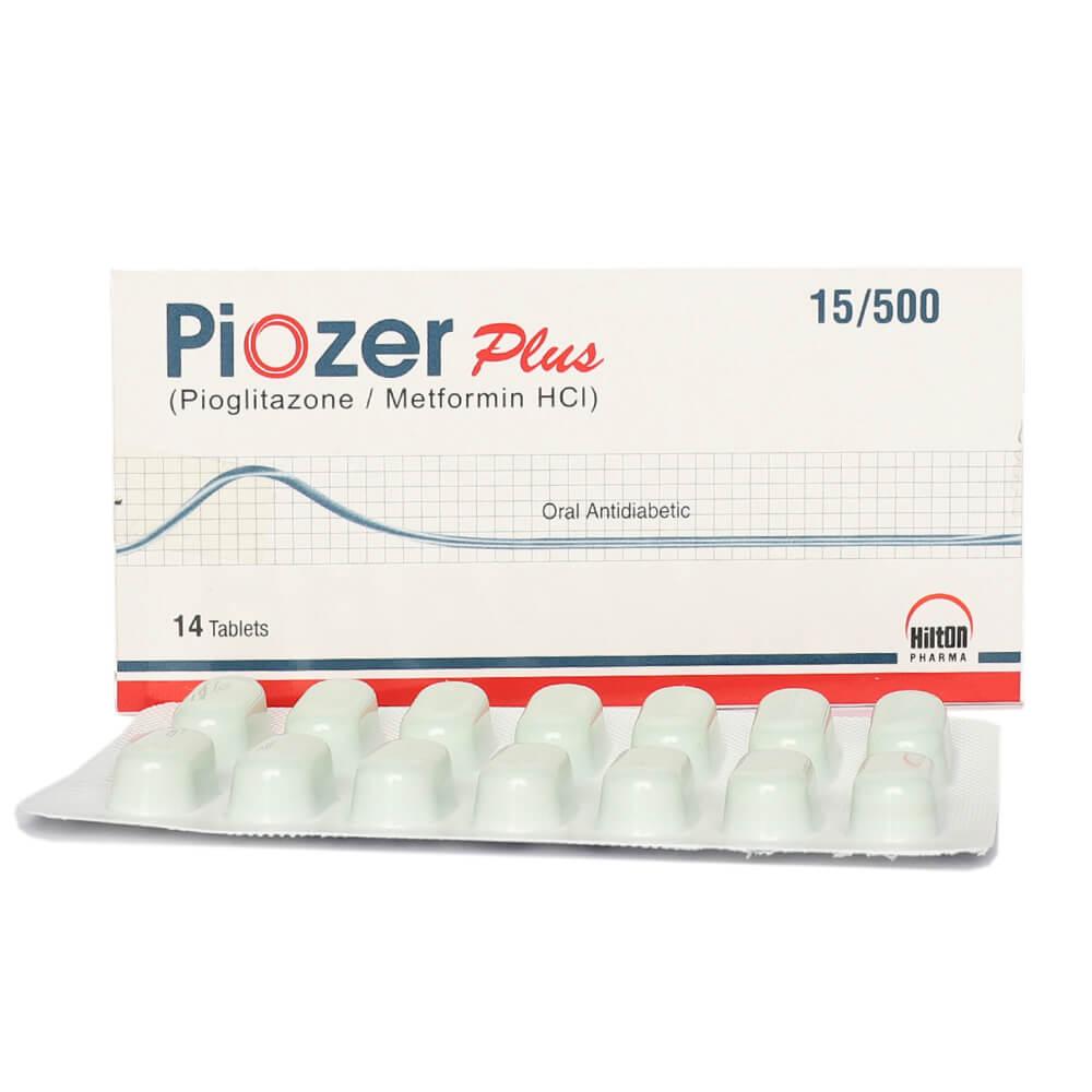 Piozer Plus 15/500mg